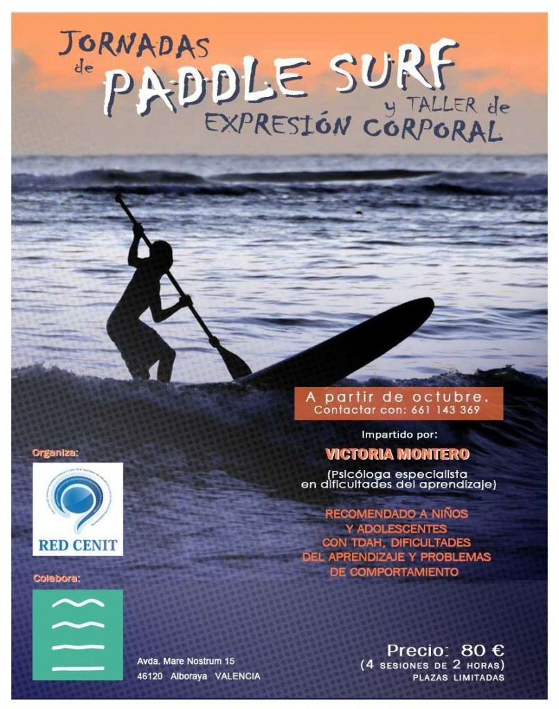 Cartelpaddle surf.