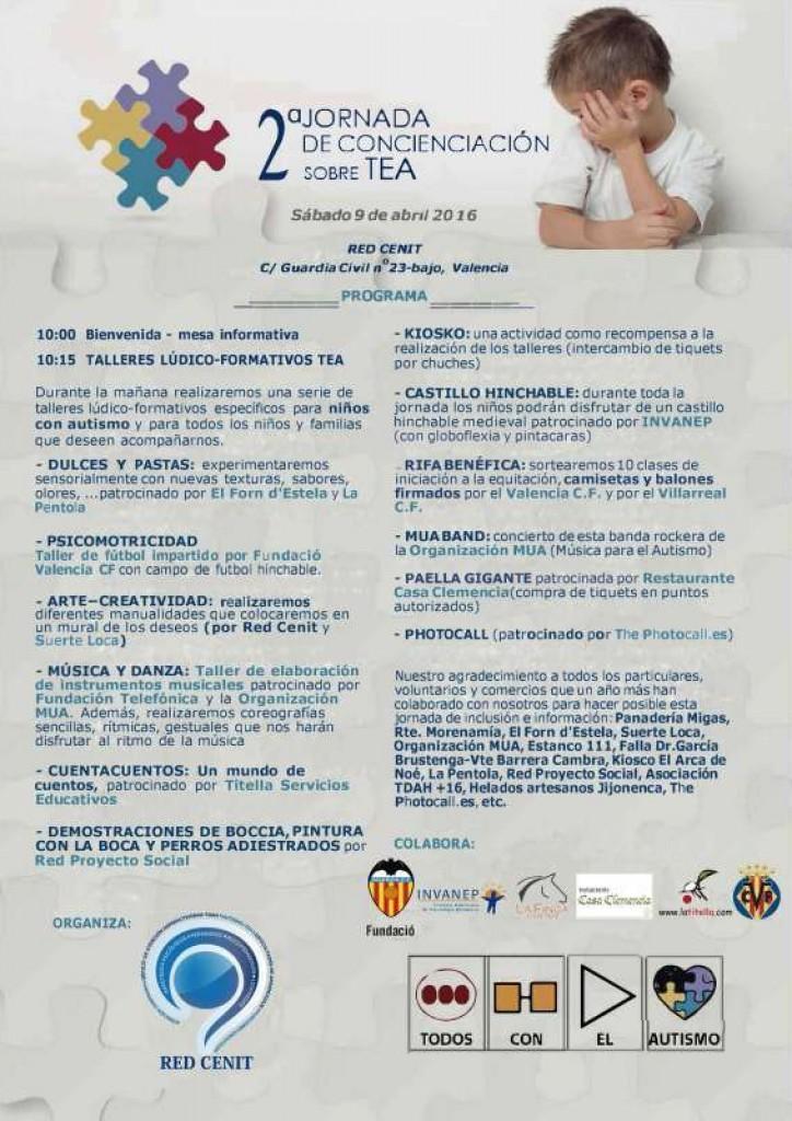 Programa Jornada TEA 2016