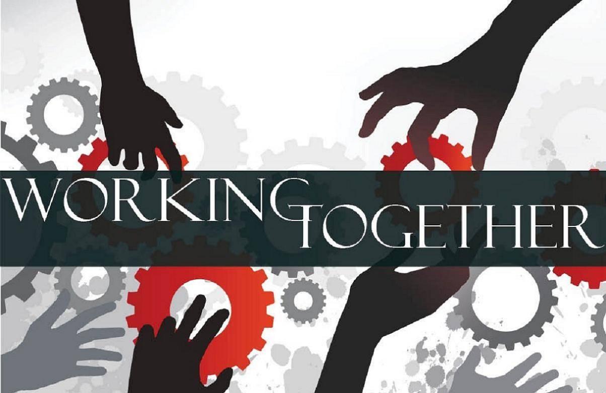 Cartel Trabajo en equipo