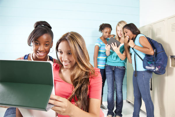 Adolescentes en grupo