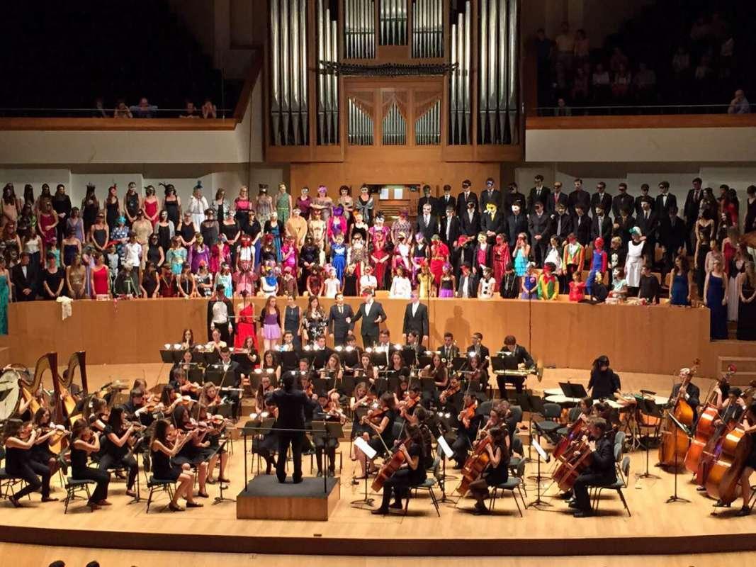 Concierto orquesta clásica