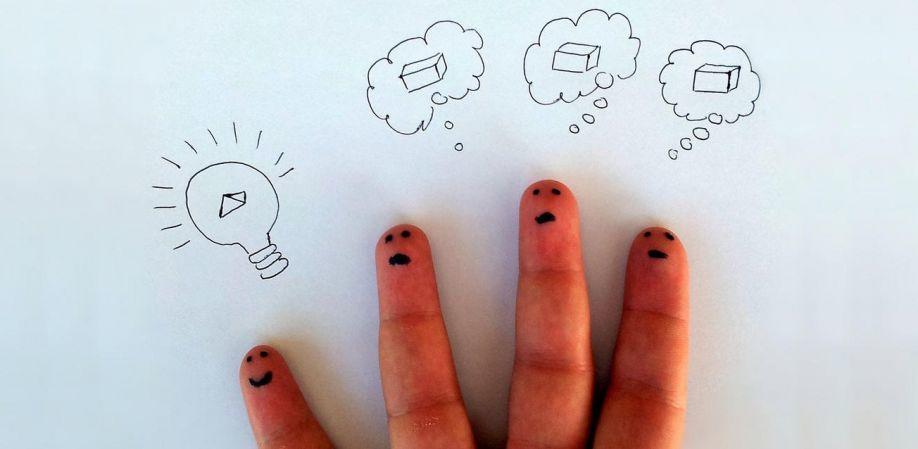 Representación de Ideas creativas