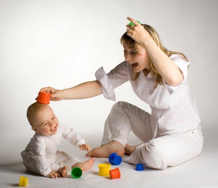 Mama Jujando con un bebe