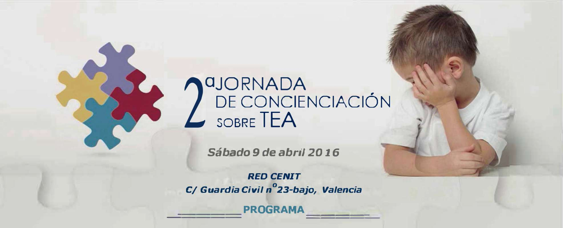 Cartel sobre jornada TEA