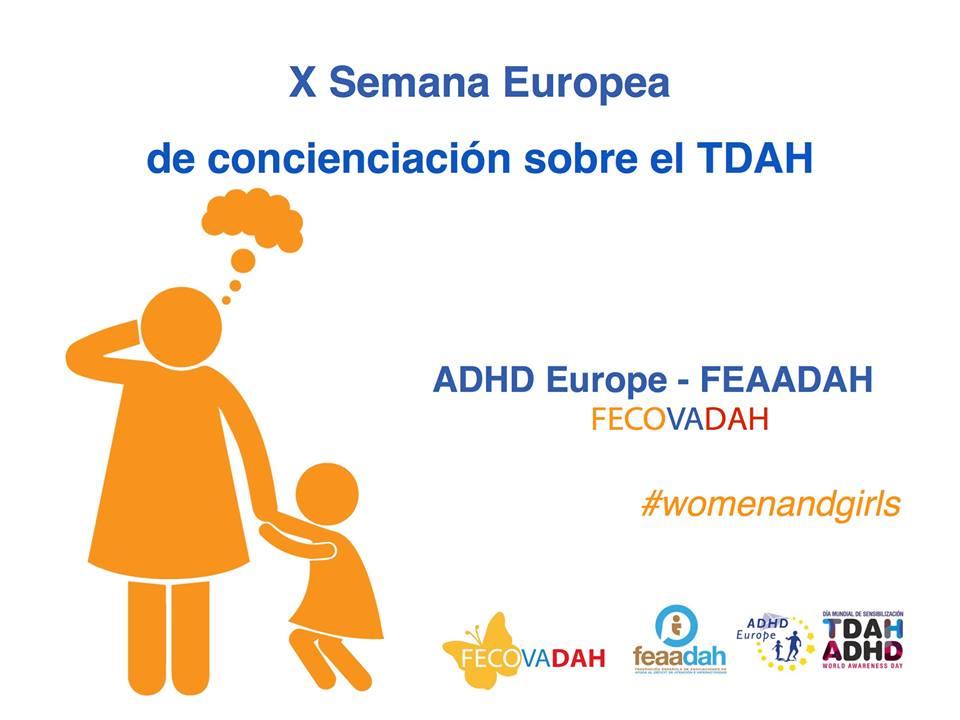 Semana Europea de Concienciación sobre el TDAH