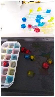 Hielos de colores