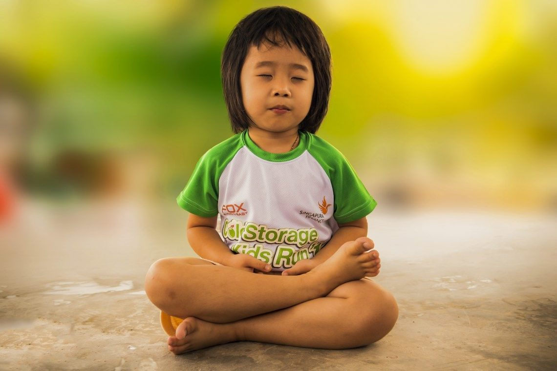 ejercicios Montessori para la calma
