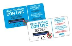 Local tratado con UVC