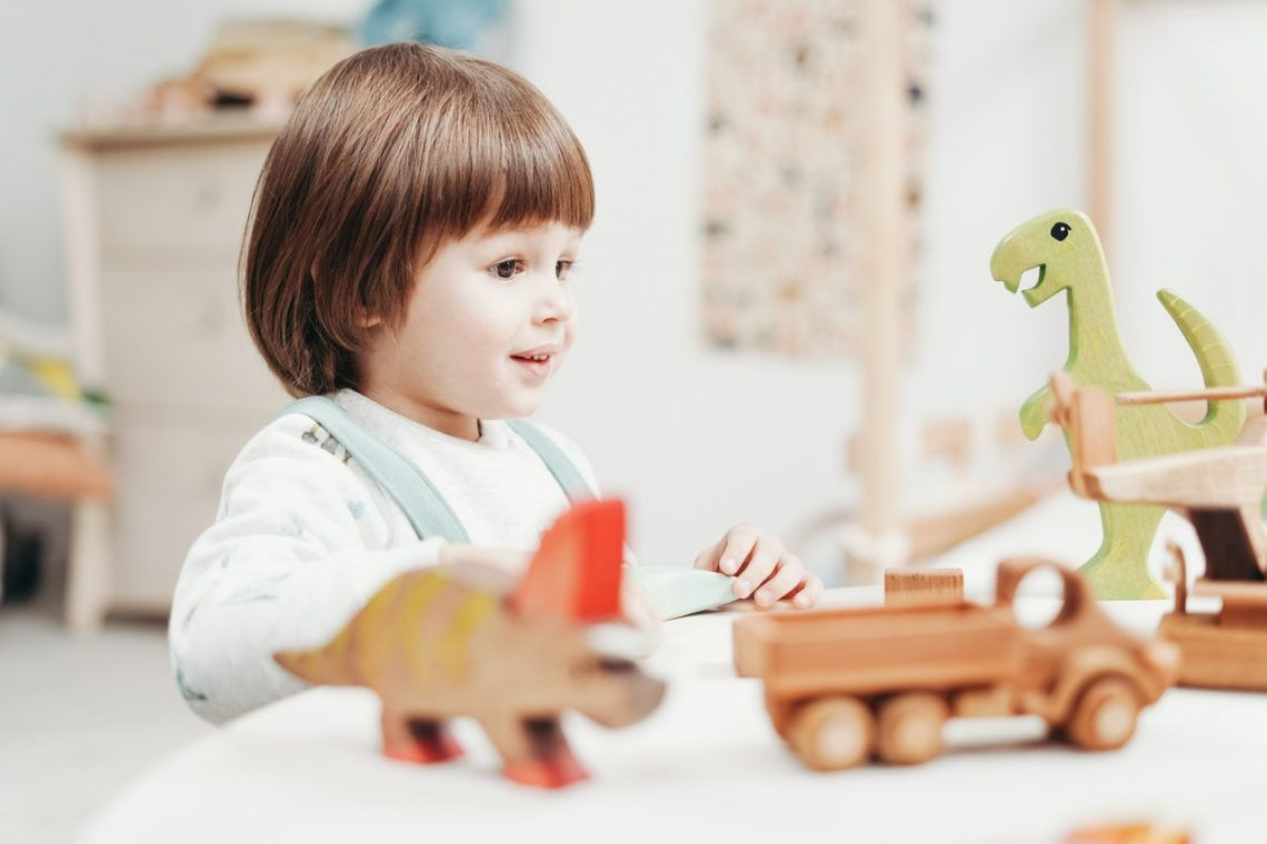 Juego simbólico en niños TEA