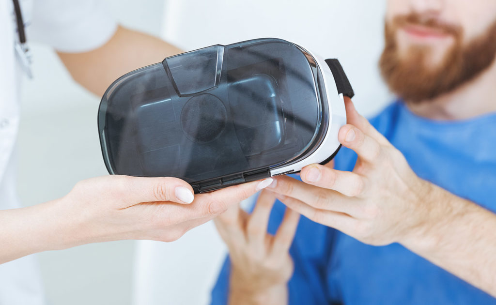 técnicas de relajación mediante realidad virtual