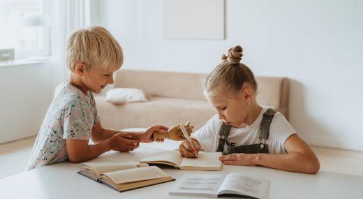 niños bilingües